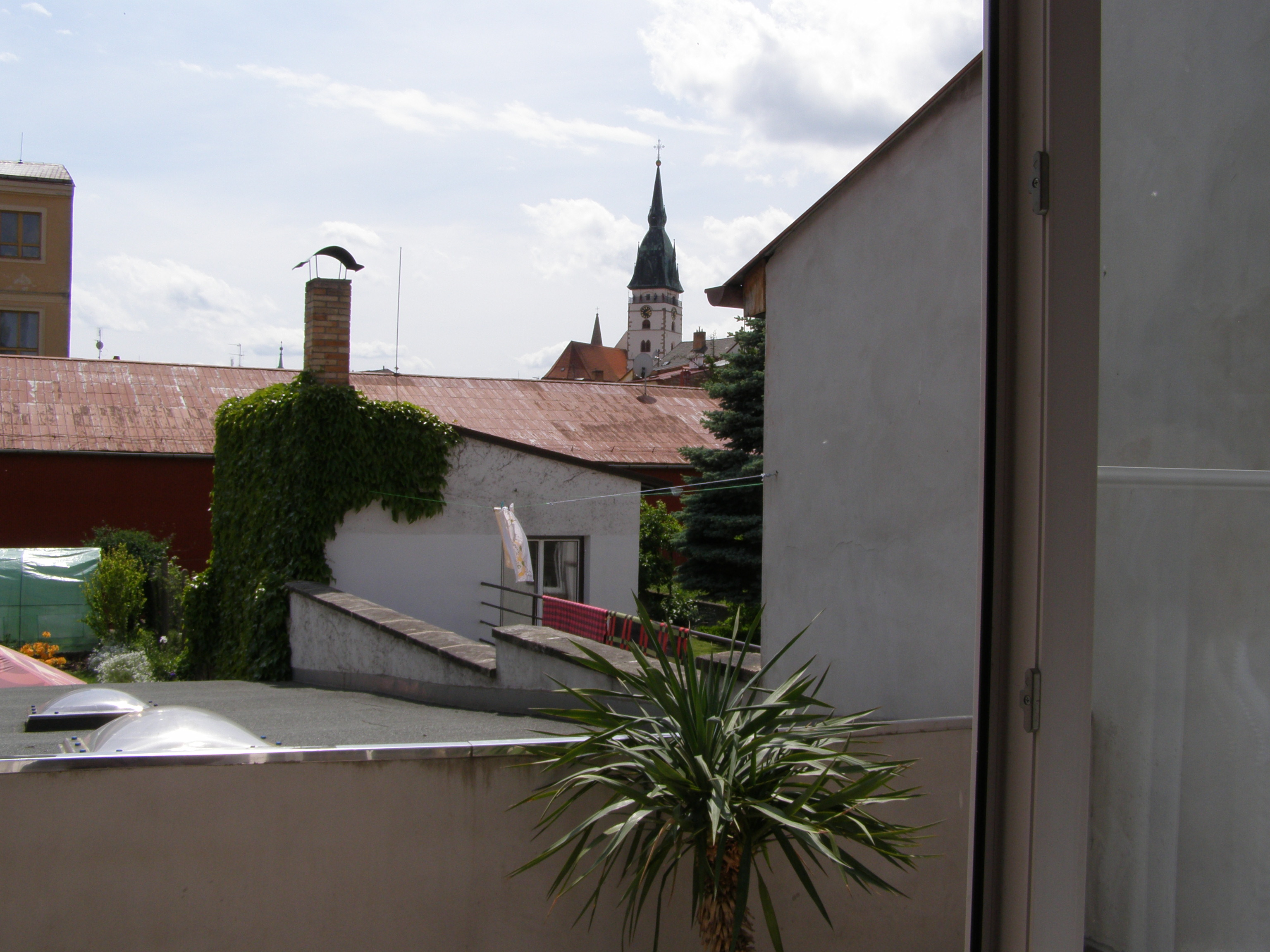 Výhled na Hradec